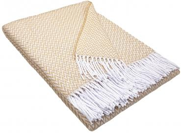 blanket | cotton beige