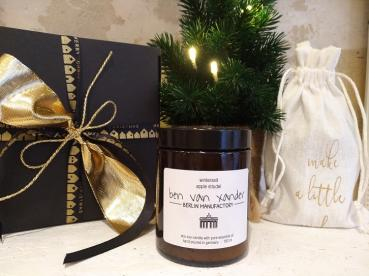 Winterzeit apple strudel | Eco-Soy Candle | Berlin Edition