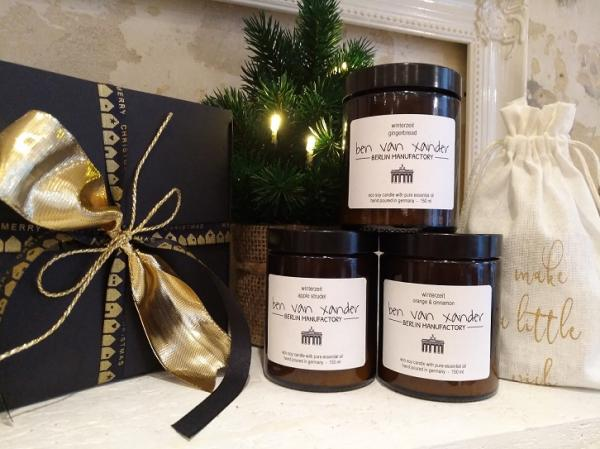 Winterzeit gingerbread | Eco-Soy Candle | Berlin Edition